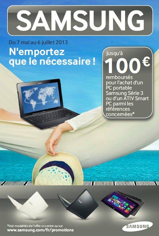 Remboursement Samsung